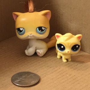 SET OF 2 LPS CATS
